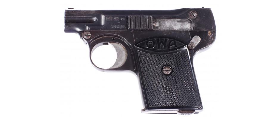 Pistole ÖWA 6,35 mm Br