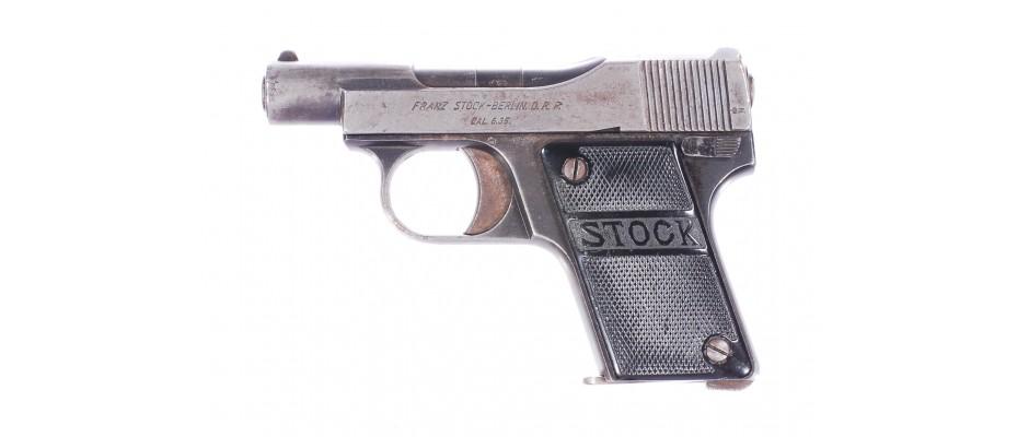 Pistole Stock 6,35 mm Br.