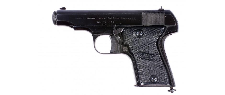 Pistole MAB modele C 7,65 mm Br.