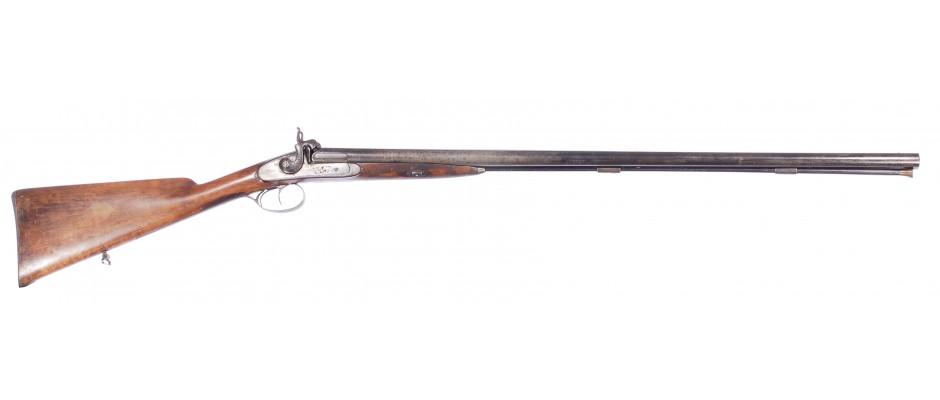 Perkusní broková dvojka Lebeda 16GA zbraň kategorie ,,D,,