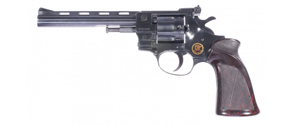 Revolver Arminius HW 4/6 Kat.D! 4 mm Flobert