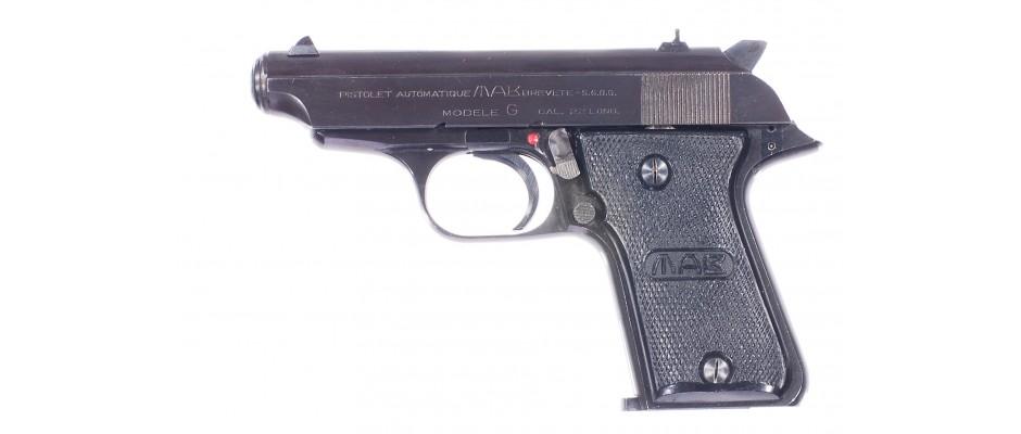 Pistole MAB modele G 22 LR