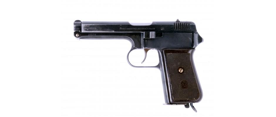 Pistole ČZ 38 9 mm vz. 22