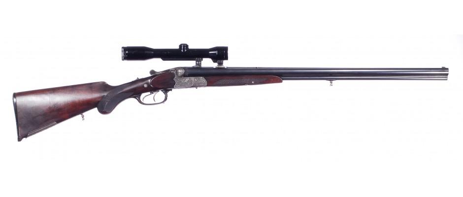 Troják Simson model 94 16/65 + 22 Hornet