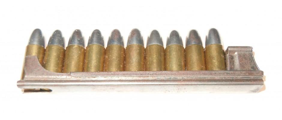 Nabíjecí pásek Styer M.7+ střelivo 8 mm Steyr