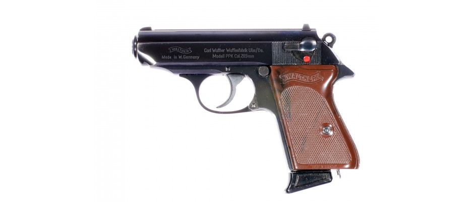 Pistole Walther PPK 7,65 mm Br.