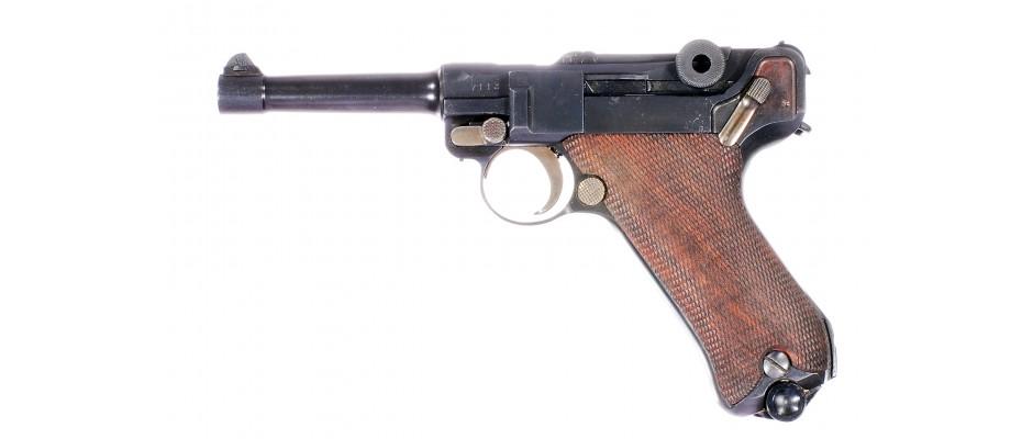 Pistole P.08 Erfurt 9 mm Luger