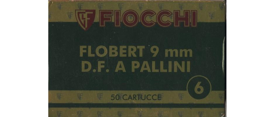 Střelivo Fiocchi 9 mm Flobert brokový