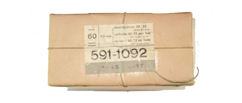 Střelivo GP 90/23 7,5x54,5 Swiss