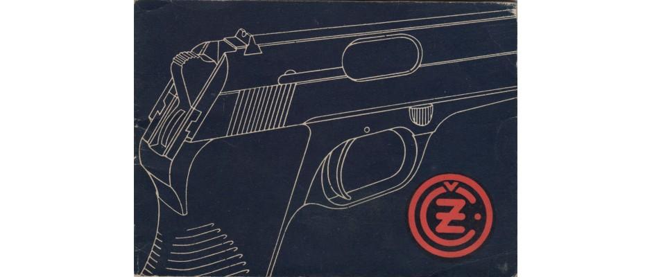 Manuál pistole ČZ 50