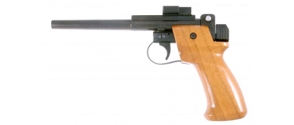 Pistole jednoranová terčová Pavlíček .22 LR
