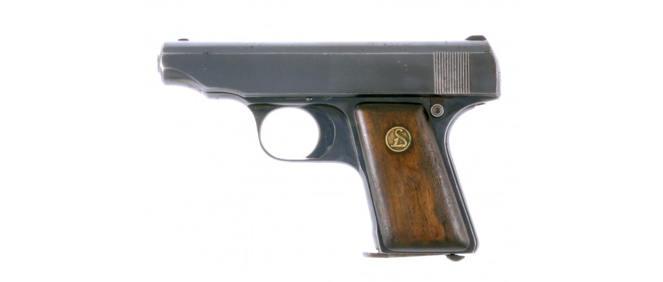 Pistole Deutsche Werke Ortgies 6,35 mm Br