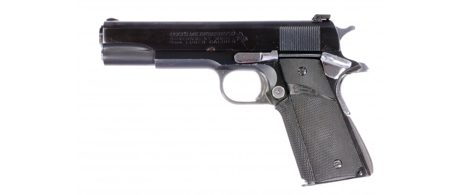 Pistole samonabíjecí Colt Government MK IV Series 70 9 mm Luger