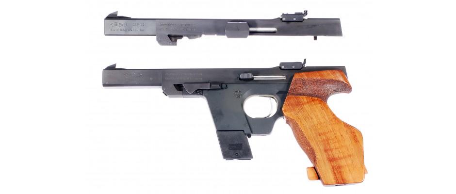Pistole samonabíjecí Walther GSP 22LR + 32 S&W
