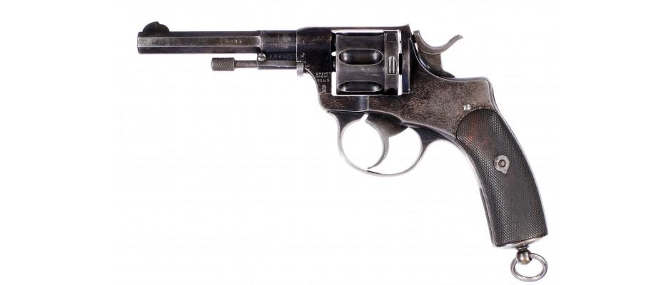Revolver Brévete Nagant Norsko 7,5 mm Nagant