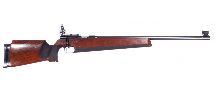 Malorážka jednoranová Anschütz model 54 Match 22 LR